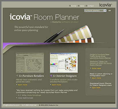 Interactive room planner system brainfuel for Interactive room planner